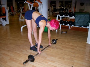Barbell Ab-Rollout