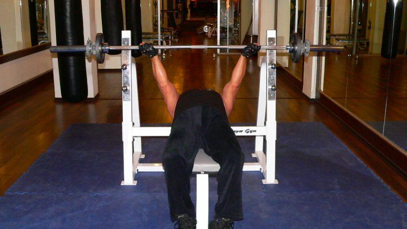 Barbell Bench Press – Reverse Grip