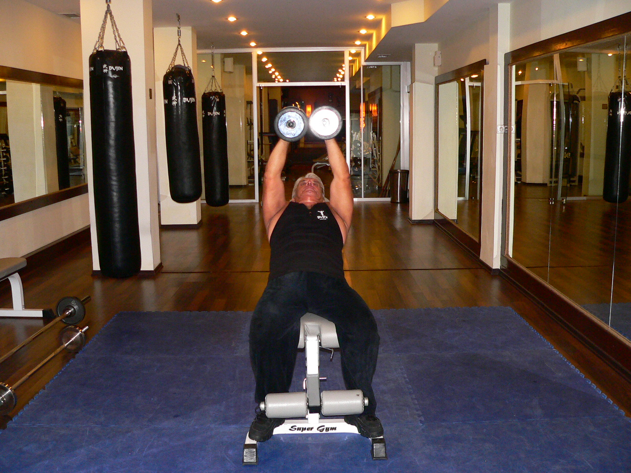 Incline Bench Dumbbell Fly