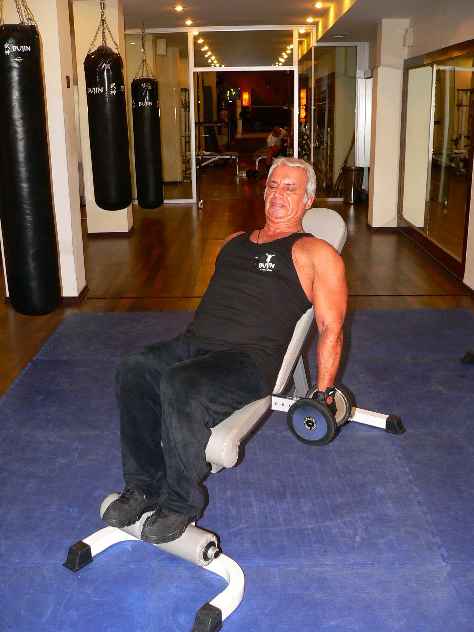 Incline Bench Inner Biceps Curl