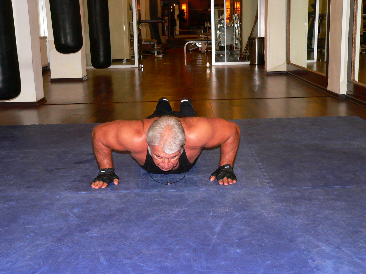 Push Up On The Floor