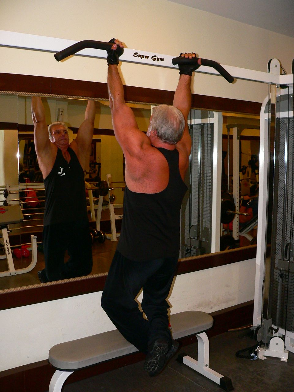 Reverse Grip Pull – Up