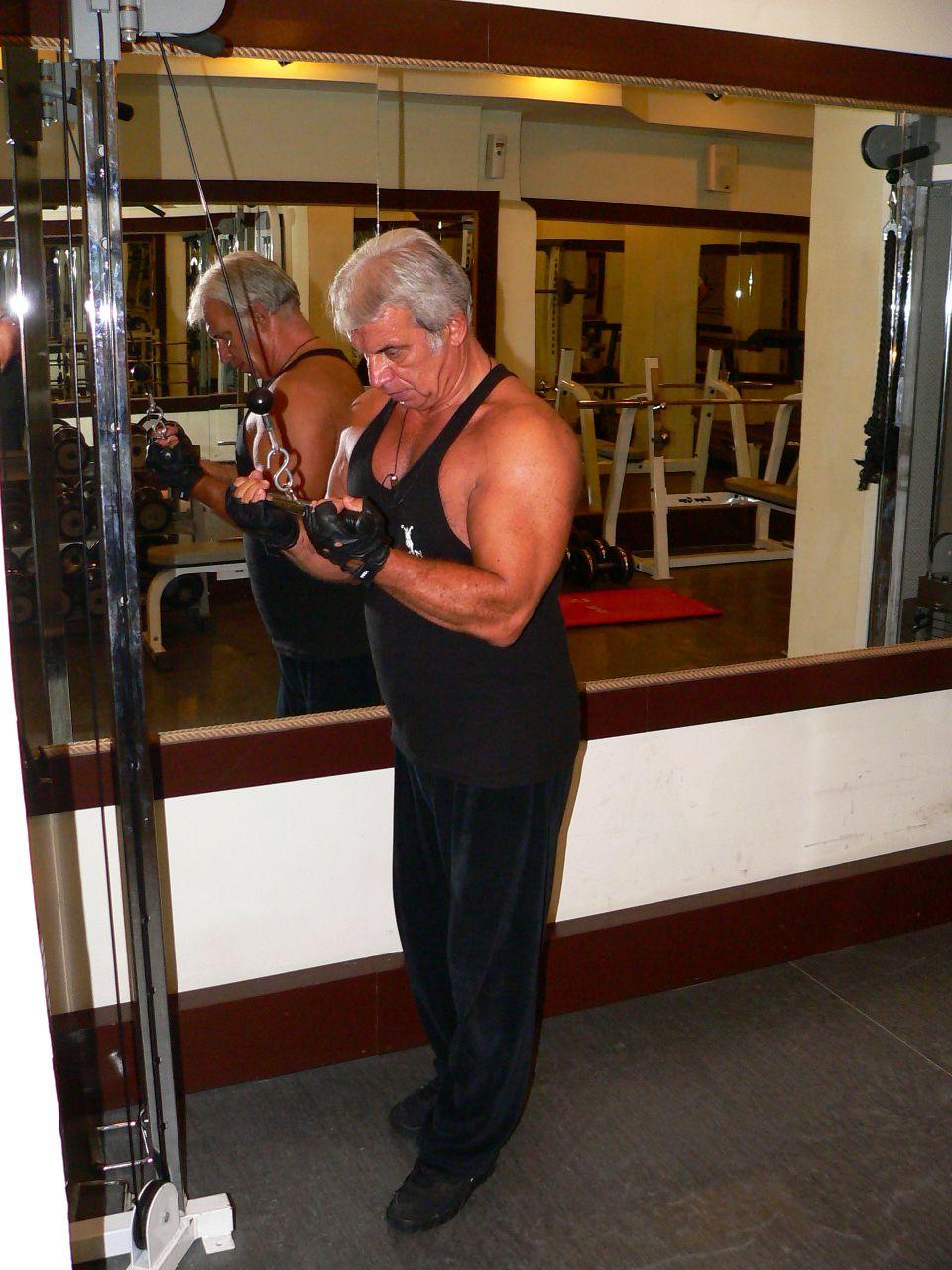 Reverse Grip Triceps Push Down