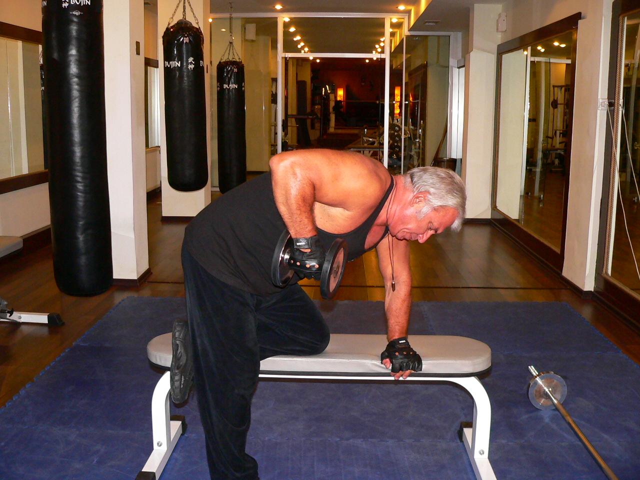Triceps Rear Raise ( Kick Back )