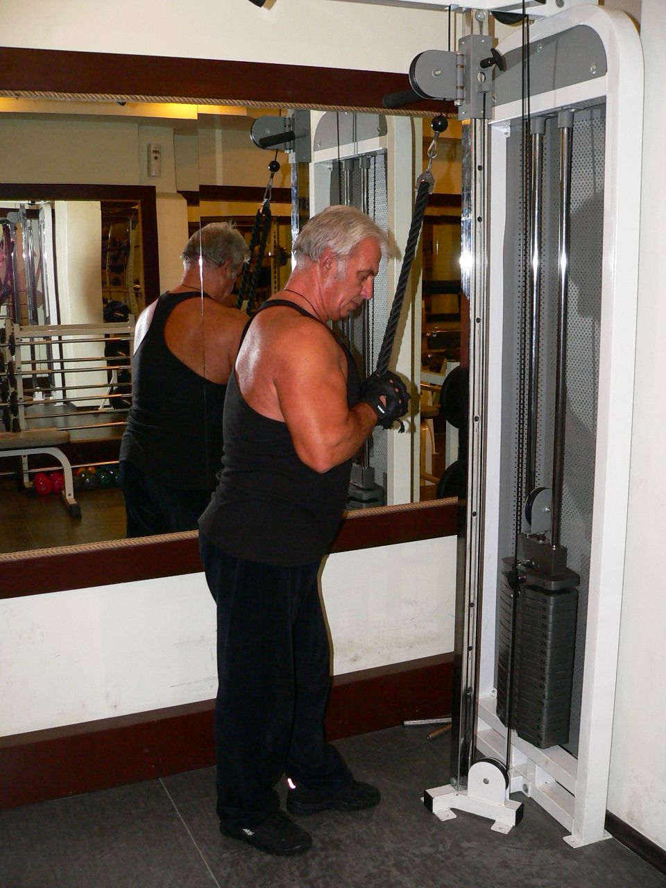 Triceps Pushdown – Rope Attachment