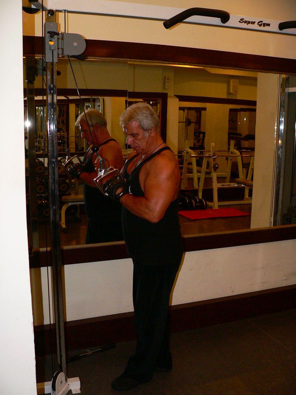 Triceps Push Down V-Bar Attachment