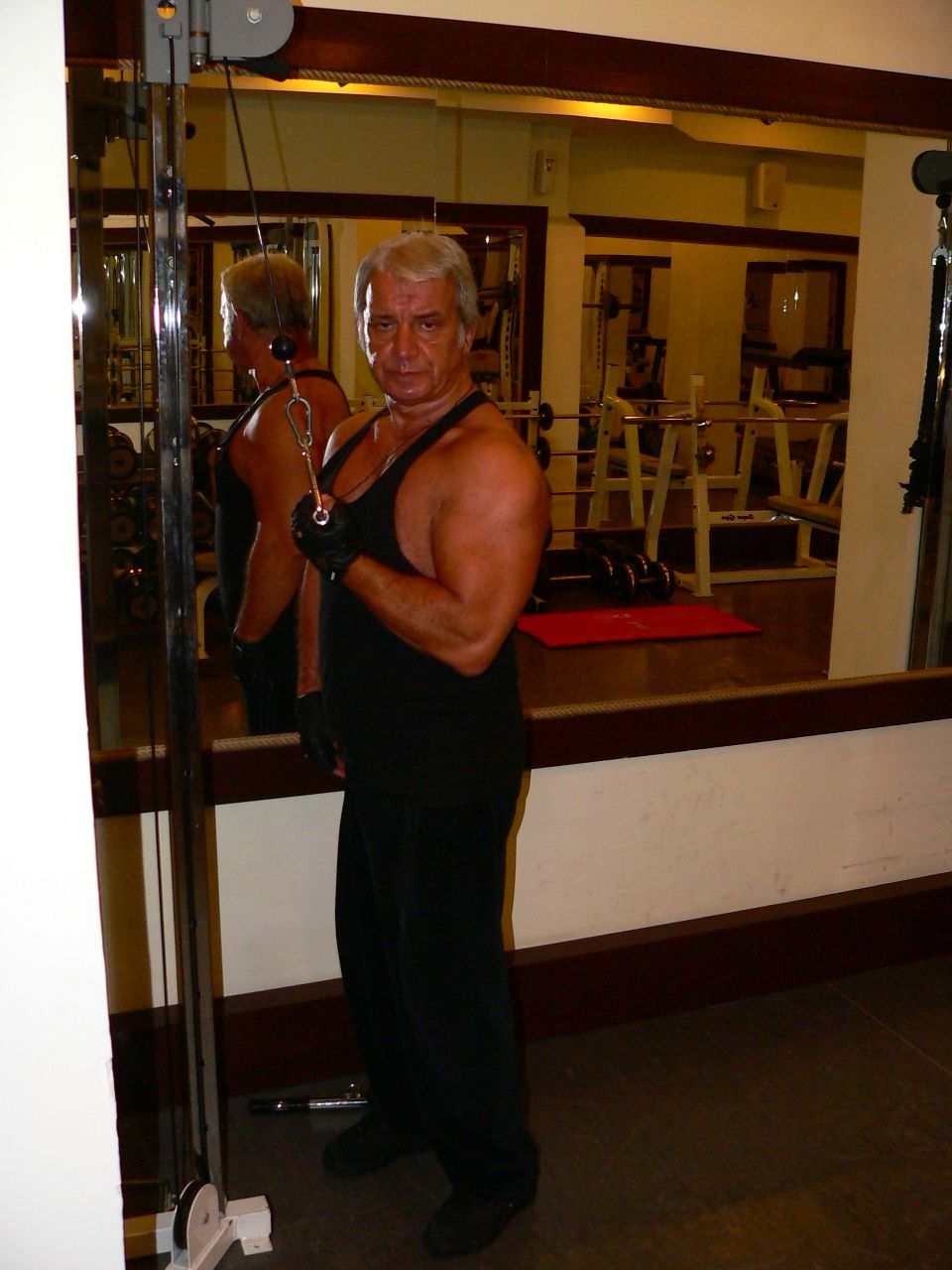 Cable One Arm Reverse Triceps Push Down
