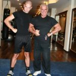 erol uur-with my pt member in gym