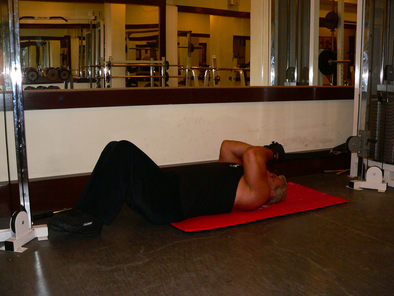 Low Cable Triceps Extension