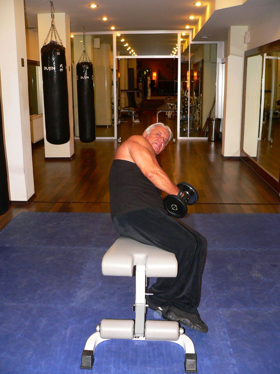 Lying Dumbbell Side Lateral