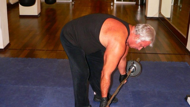 Reverse Grip Bent Over Row