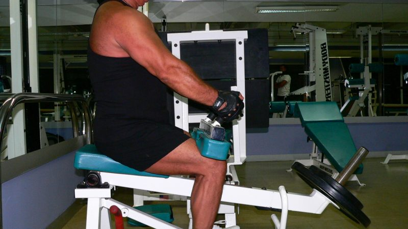 Seated Calf Raise Machine