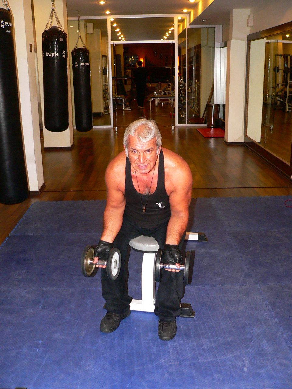 Seated Dumbbell Wrist Curl