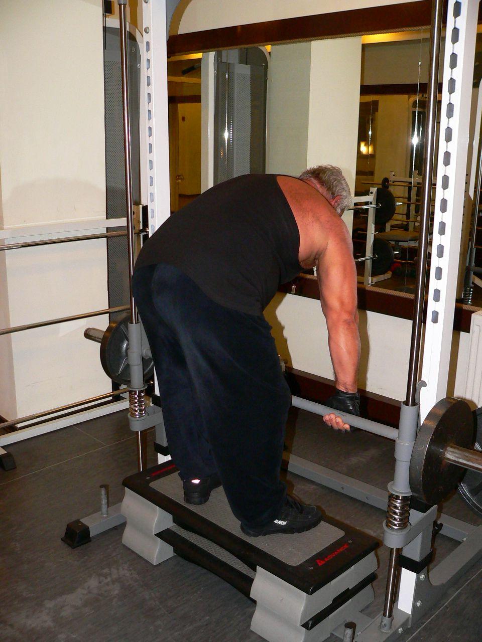 Smith Machine Bent Over Row