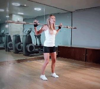 Barbell Lunge – W