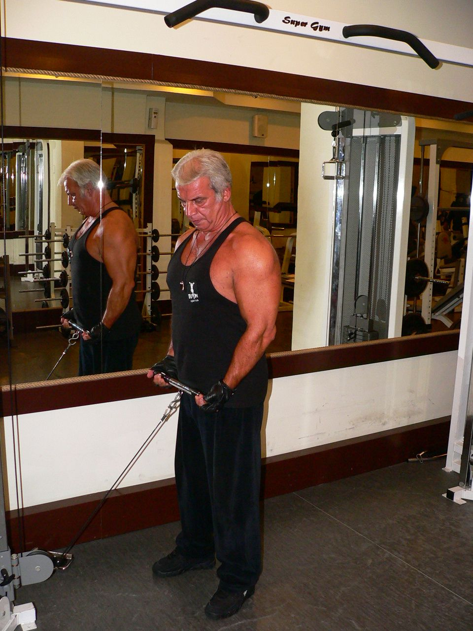 Standing Biceps Cable Curl