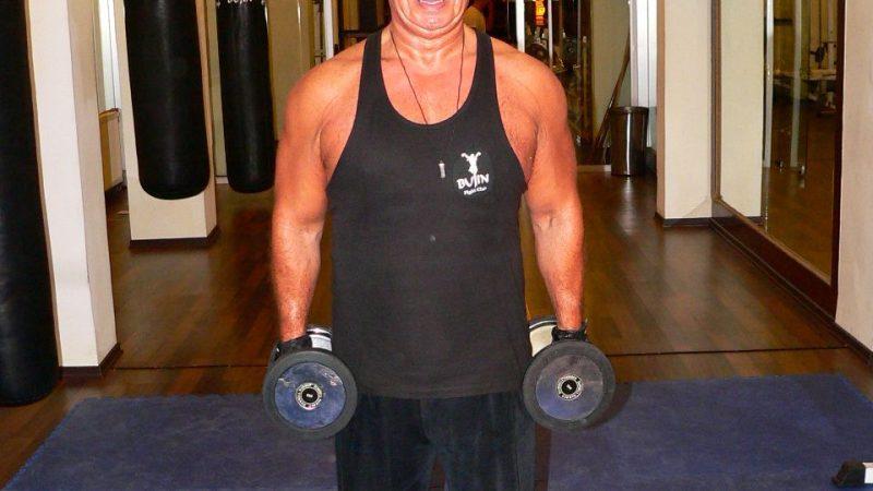 Standing Inner Biceps Dumbbell Curl