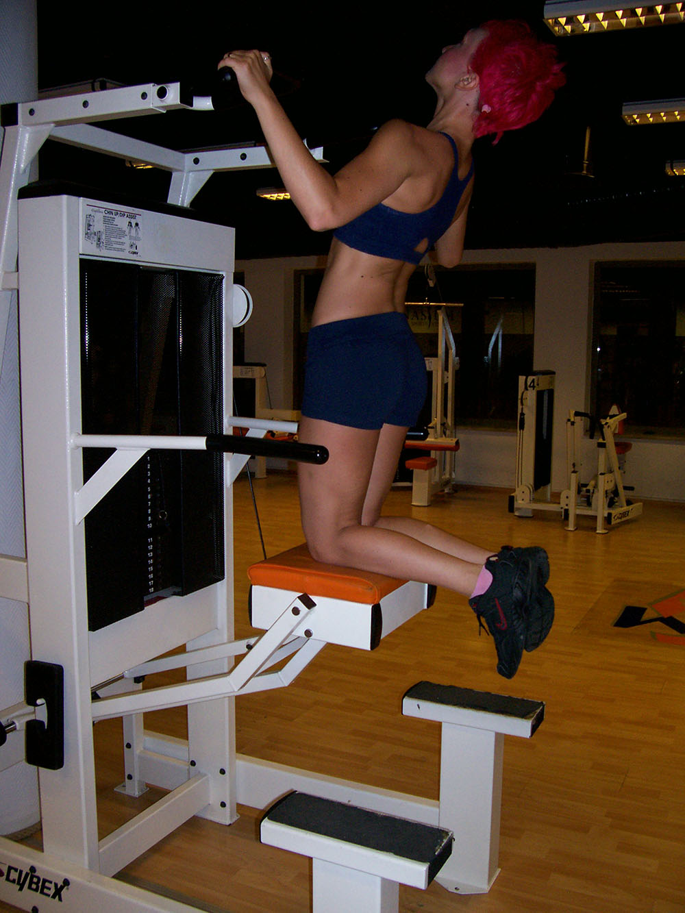 Chin-Dips Assist Pull-Up W-2
