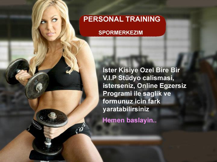 Kişiye Özel Spor Eğitmenleri